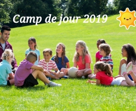 Inscription camp de jour 2019