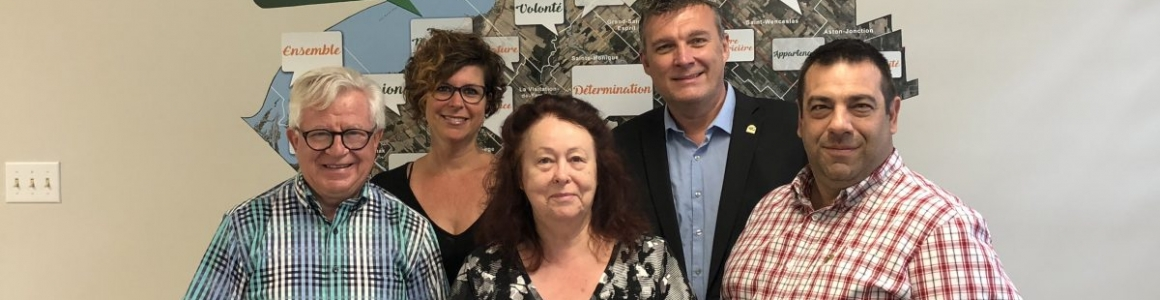 Diagnostic et plan de revitalisation des municipalités de Pierreville, Saint-Léonard-d'Aston, Sainte-Eulalie, Sainte-Monique et Nicolet